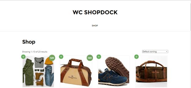 wc shop dock